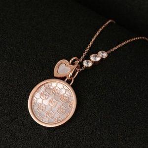 Michael Kors Jewelry - Michael Kors MONOGRAM Mother of Pearl Necklace